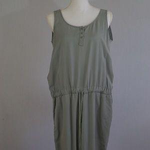 Cloth and Stone Soft Green Jumpsuit